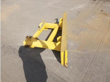 Snow Plough to suit Forklift - puskulevy