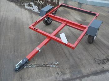 Unused Single Axle Trailer Chassis to suit ATV - alusta perävaunu