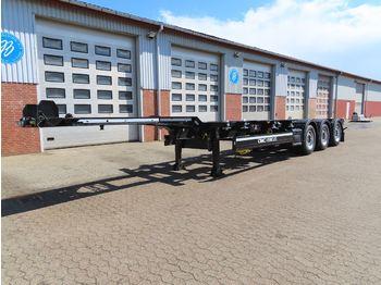 Konttialus/ vaihtokuormatilat puoliperävaunu CIMC Container