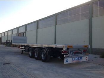 Lavapuoliperävaunu LIDER 2020 YEAR NEW MODELS containeer flatbes semi TRAILER FOR SALE