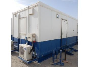 12 Man Sleeper c/w Bunk Beds, Steel Cabinets, Split Type A/C (GCC DUTIES NOT PAID) - vaihtokori/ kontti
