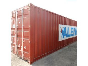 40' Container c/w Various types of PVC conduits - vaihtokori/ kontti