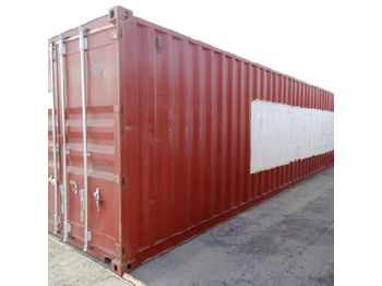 40' Container c/w Various types of clamps to suit plumbing work of buildings - vaihtokori/ kontti