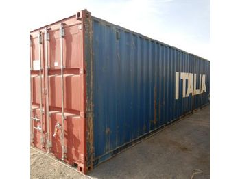 40' Container c/w Various types of electrical accessories - vaihtokori/ kontti