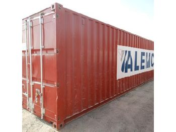 40' Container c/w Various types of electrical conduit - vaihtokori/ kontti