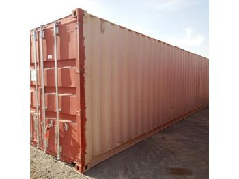 40' Container c/w Various types of identification tape - vaihtokori/ kontti