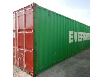 40' Container c/w Various types of plumbing connectiors HDPE ELF fittings - vaihtokori/ kontti