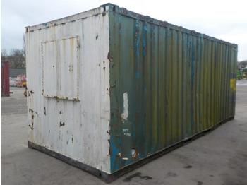 20` x 10` Containerised Office/ Toilet - kontti talo