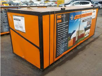 Unused 2020 Container Shelter 4040 Dual Truss, Enclosed End Wall - kontti talo